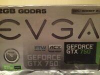 Evga geforce gtx 750 2gb ftw