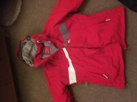 Women's Helly Hansen jacket and trousers