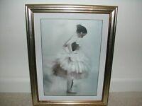 3 Framed Prints of Ballet Dancers