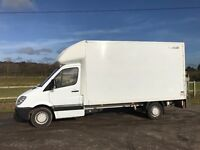 MERCEDES SPRINTER 313 CDI DIESEL 13FT 6 LUTON WITH TAIL-LIFT 2010 *EURO 5 ENGINE* DRIVES EXCELLENT