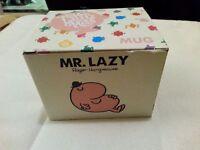 Mr. Men Mug - Mr. Lazy