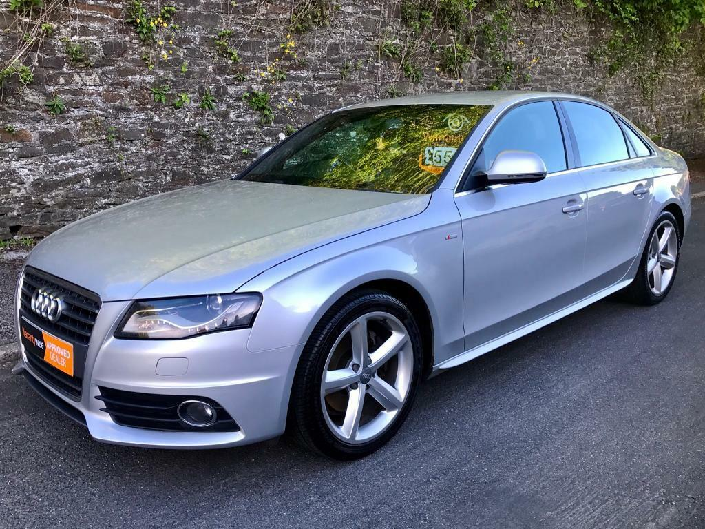 2009 audi a4 2 0 tdi 120 s line 4dr trade price in llanishen cardiff gumtree. Black Bedroom Furniture Sets. Home Design Ideas