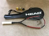 HEAD Nano Ti 110 Squash Racket - Great condition