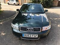 2003 Audi A4 2.5 TDI 4dr (CVT) Automatic @07445775115 4 Months Warranty Included
