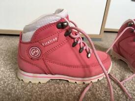 Girls infant size 9 Firetrap boots