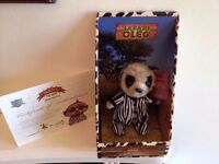 Compare the meerkat baby safari oleg BNIB