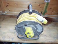 110 volt extension lead and reel