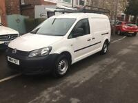VW Caddy Maxi 1.6 - 2014 - 30k mileage - great condition -TDI C20 Maxi Startline Panel Van 5dr