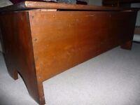 Antique Oak Chest/Blanket Box