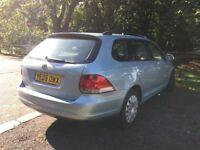 Volkswagen Golf Estate 1.6 petrol. Excellent condition, LOW MILEAGE!