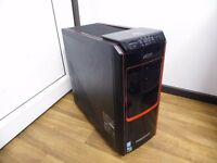 Acer Predator G3-605 Gaming Computer PC (Intel i7 4770, 16GB RAM, 3TB HD, GTX 745 4GB)