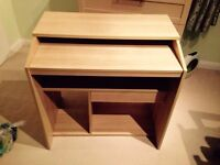 Computer desk - Good condition - W79 H79 D50 cm. £20 for quick sale. Buyer to collect.