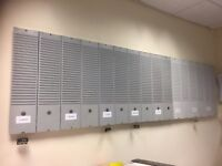 T Card Board and Used and unused office stationery
