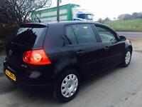 2007 VW GOLF 1.6 FSI MATCH 5 DOOR HATCHBACK BLACK FULL YEARS MOT FULL SERVICE HISTORY