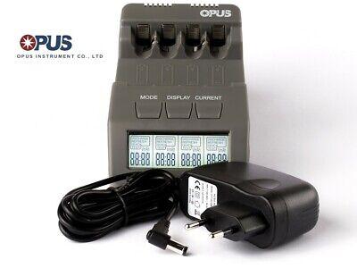 Opus BT-C700 Inteligente Cargador Para Aa / AAA, Nimh, Nicd Baterías