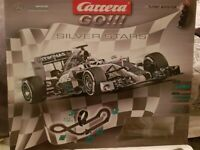 Used, F1 scalextic set mercedes f1 lewis hamilton for sale  Hull, East Yorkshire