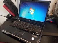 HP Pavilion DV1000 Laptop, intel centrino, 1GB RAM, 256 GB HDD, 14.1 inch screen
