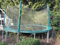 TP 12 ft Emperor 2 trampoline with safety net
