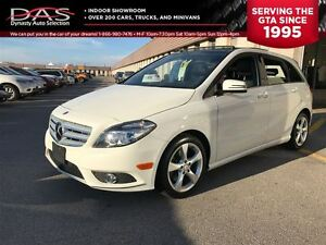 2013 Mercedes-Benz B-Class Sports Tourer Leather/Sunroof