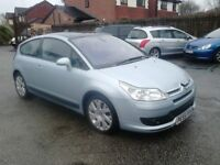 STUNNING CITROEN C4 1.6 WITH 95,000 MILES FROM NEW AND A FULL 12 MONTHS MOT, VERY CLEAN CAR