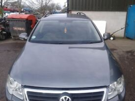VW Passat B6 bonnet grey
