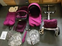 Stokke Xplory Complete with Travel Bag - Purple