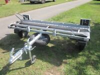 MOTORBIKE TRAILER - CMF SIDE-LOADING TRAILER FOR MOTORCYLES/SCOOTERS UP TO 325kg - £575.00