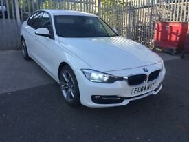 *DEPOSIT TAKEN* 2014 BMW 320D SPORT AUTOMATIC ALPINE WHITE LEATHERS XENONS 318D 330D M SPORT