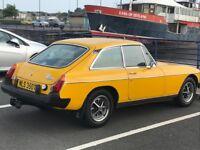 MGB GT 1979