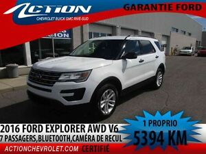 2016 Ford Explorer 4WD AUTO,AIR,V6,BLUETOOTH
