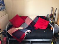 Futon sofa bed from Argos, original price £220. Hardly used, in great condition