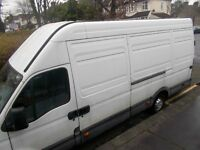 COURIER DELIVERY SERVICE-- IVECO DAILY LWB.--FULL LOADS ANY DISTANCE--EXCELLENT RATES