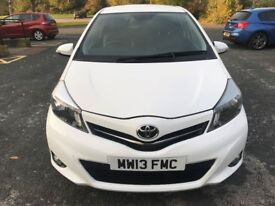 Superb Value 2013 Yaris 1.33 SR 3 Dr Hatch 31000 Mile Full Screen Nav And Media System Cat d Repair