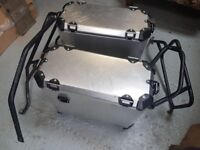 BMW F800GS Panniers and Mounting Frame