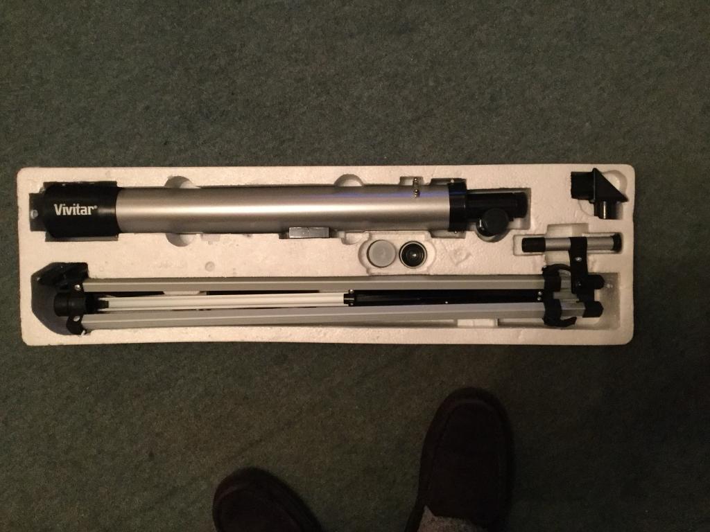 Telescope Vivitar refractor telescope Age 6 Plus
