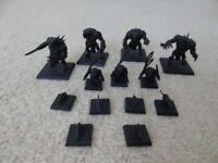 Warhammer Age of Sigmar - Skaven Rat ogres, Pack Masters + Giant Rats