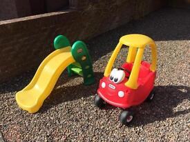 Little Tikes Cozy Coupe Car & My First Slide
