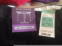***BRAND NEW*** M&S Black Corduroy Trousers
