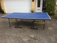 Full Size Folding Table Tennis Table