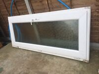 UPVC Door and Frame with obscure glass