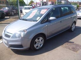 Vauxhall ZAFIRA,7 seat MPV,FSH,great family car,tow bar fitted,cam belt just done,low mileage 63k