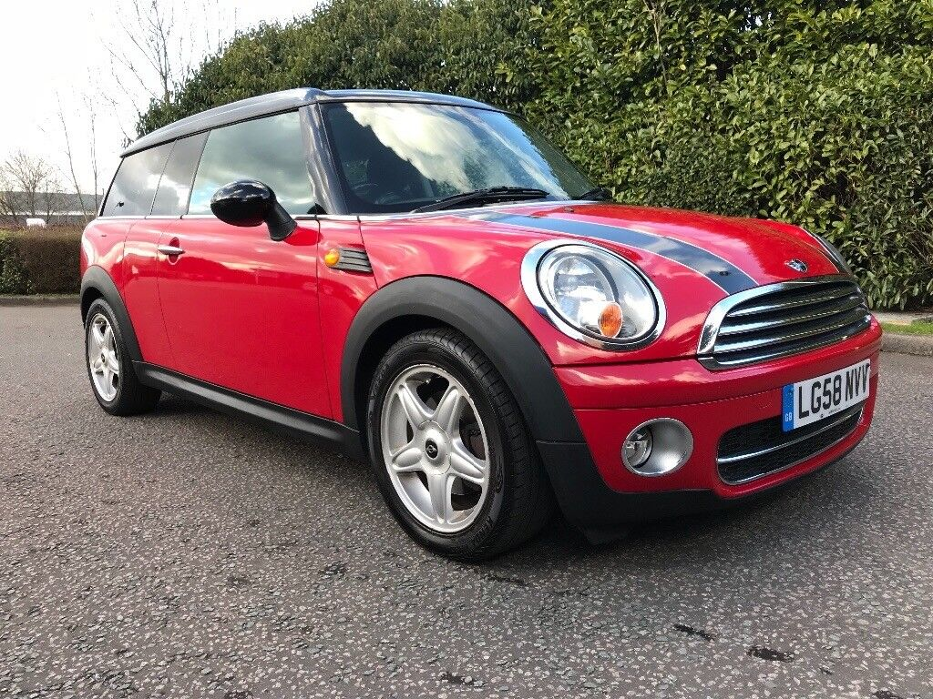 auto 2008 mini cooper 1 6 d clubman automatic diesel full service history factory extras one s. Black Bedroom Furniture Sets. Home Design Ideas