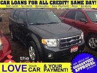 2009 Ford Escape XLT * LEATHER * POWER ROOF * HTD PWR SEATS