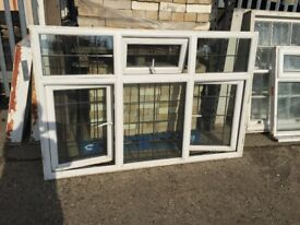 Wide upvc window, H:118 cm, W;182 cm