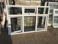 Wide upvc window, H:118 cm, W;182 cm