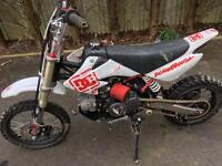 Demon x 110cc pit bike