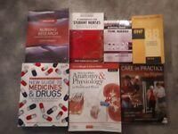 Nearly new Adult nursing books