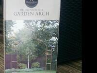Victorian garden arch