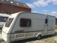 2 BERTH LIGHTWEIGHT 2003 LUNAR CLUBMAN WITH END BATHROOM AND AWNING WE CAN DELIVER PLZ VIEW