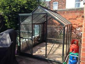 6 x 8 Halls greenhouse